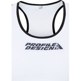 Profile Design ID Top Triatlón Mujer, red/white